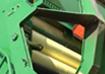 John Deere C690 Wrap Loading