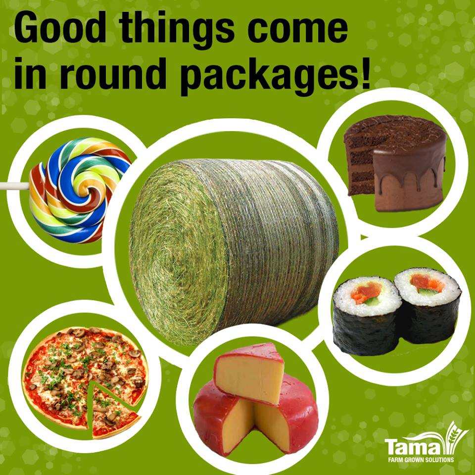 Good things come in round packages!