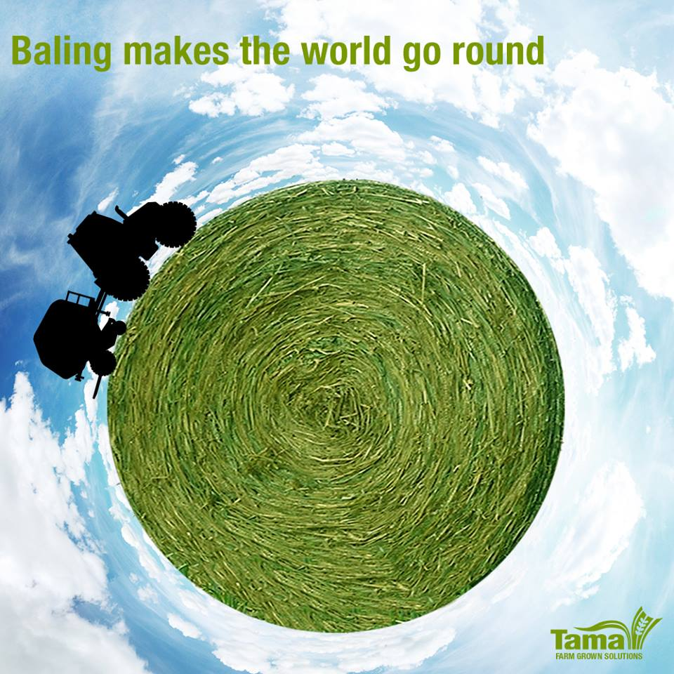 Baling makes the world go round