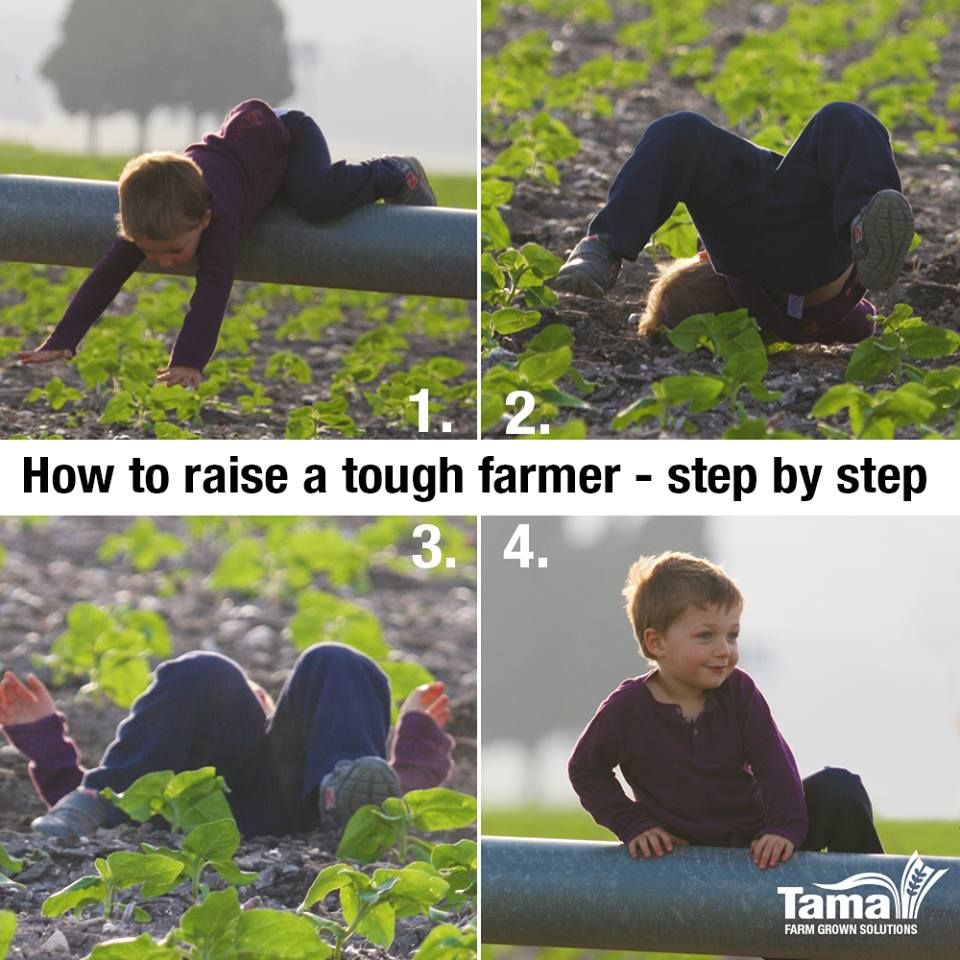 How to raise a tough farmer - step by step
