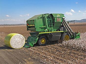 ohn Deere 7760 | CP690 ו CS690 cotton harvester