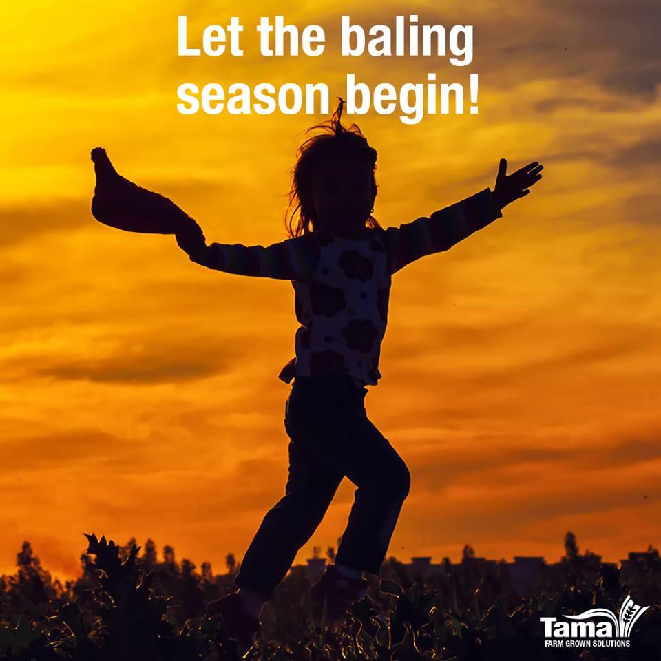 Let the baling season begin!