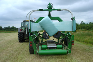 Stretchfilm for silage wrapping