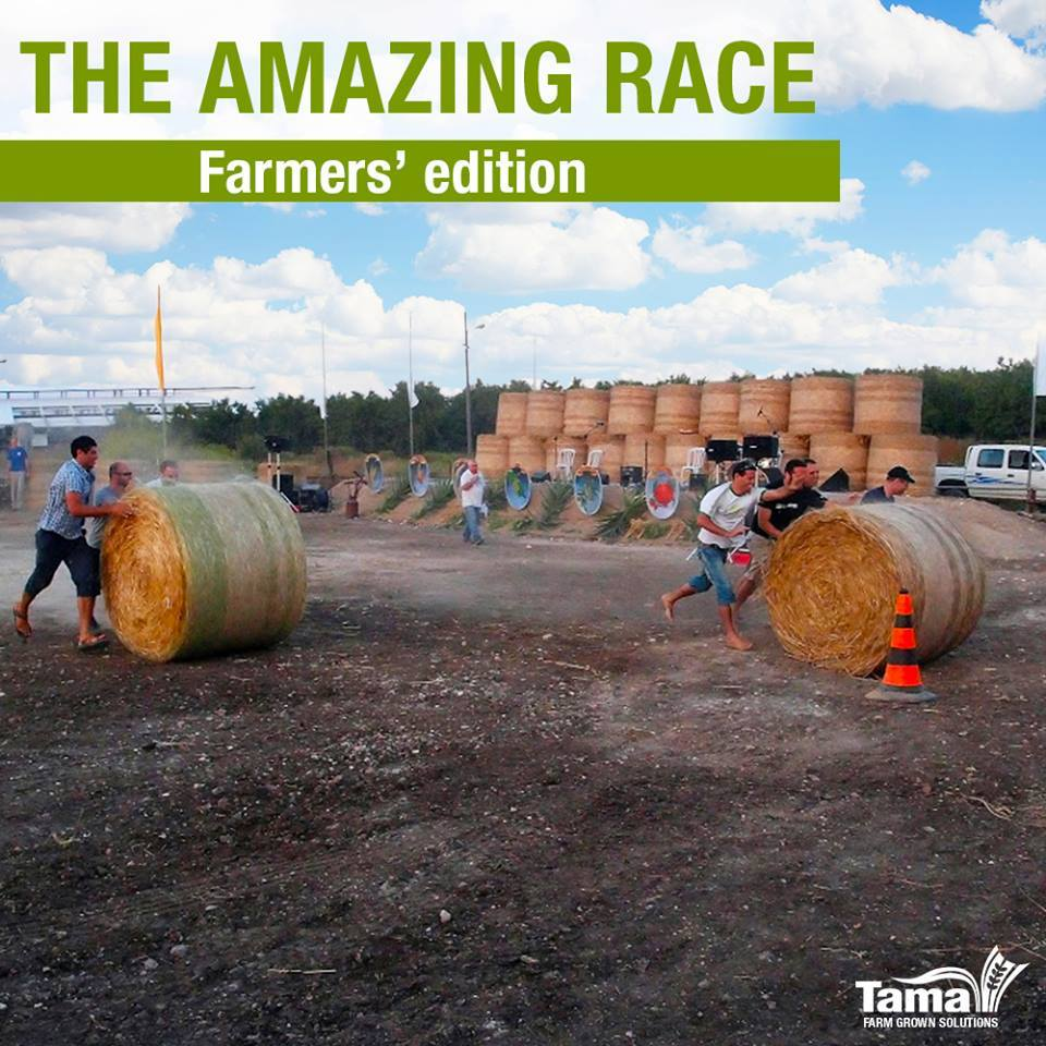 THE AMAZING RACE Farmers' edition