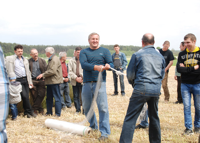 Field Workshops with the polish distributor – Grupa Rolnik-11