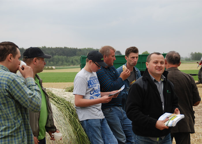 Field Workshops with the polish distributor – Grupa Rolnik-15