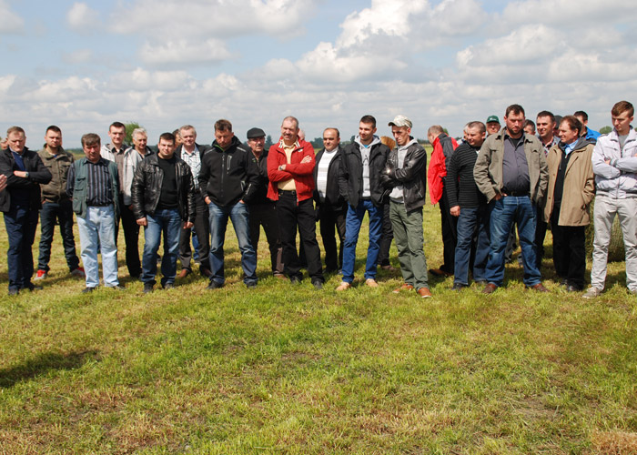 Field Workshops with the polish distributor – Grupa Rolnik-7