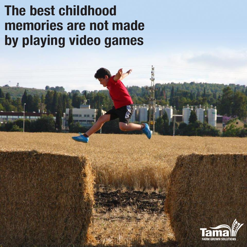 The best childhood memories are not made by playing video games