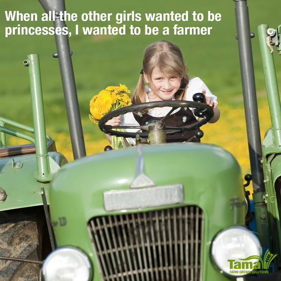 When all the other girls wanted to be princesses, I wanted to be a farmer