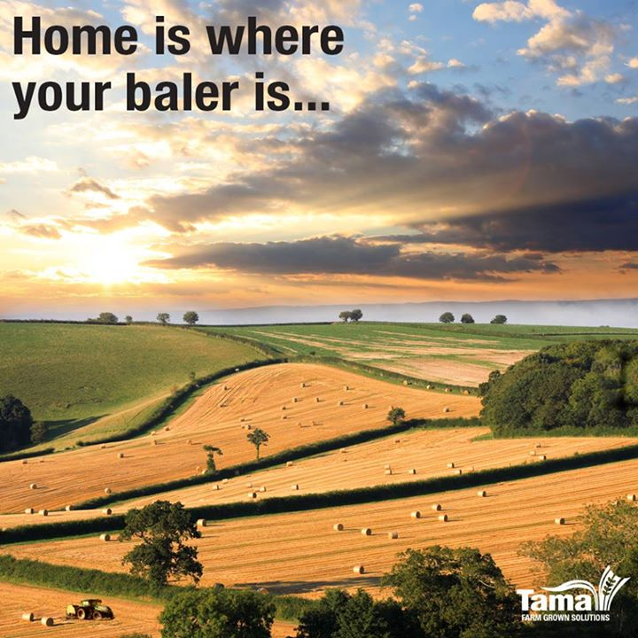 Home is where your baler is...