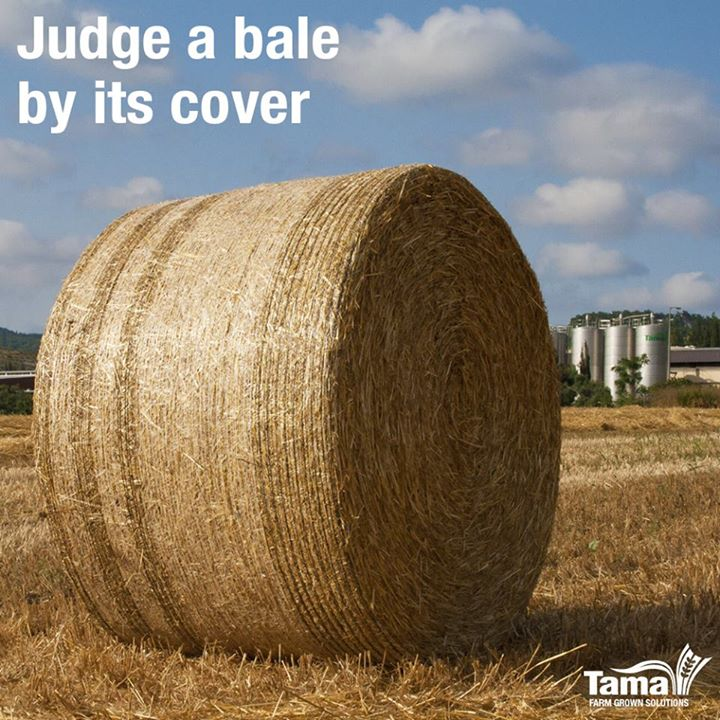 Judge a bale by its cover