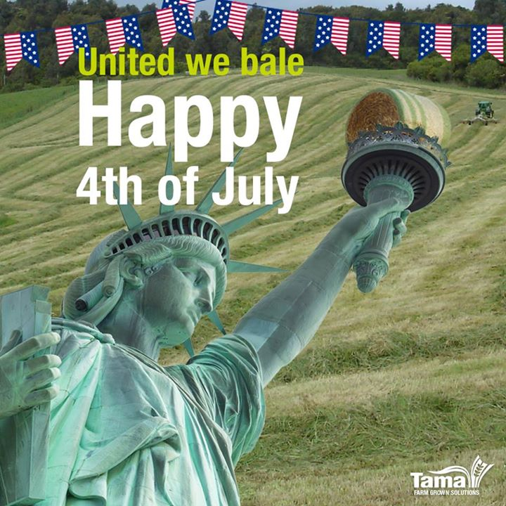 United we bale Happy 4th of July