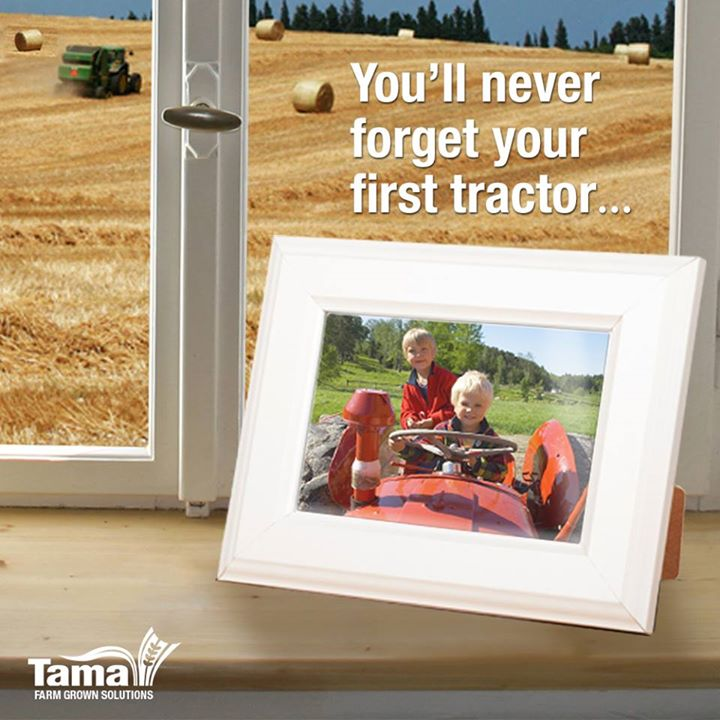 You'll never forget your first tractor