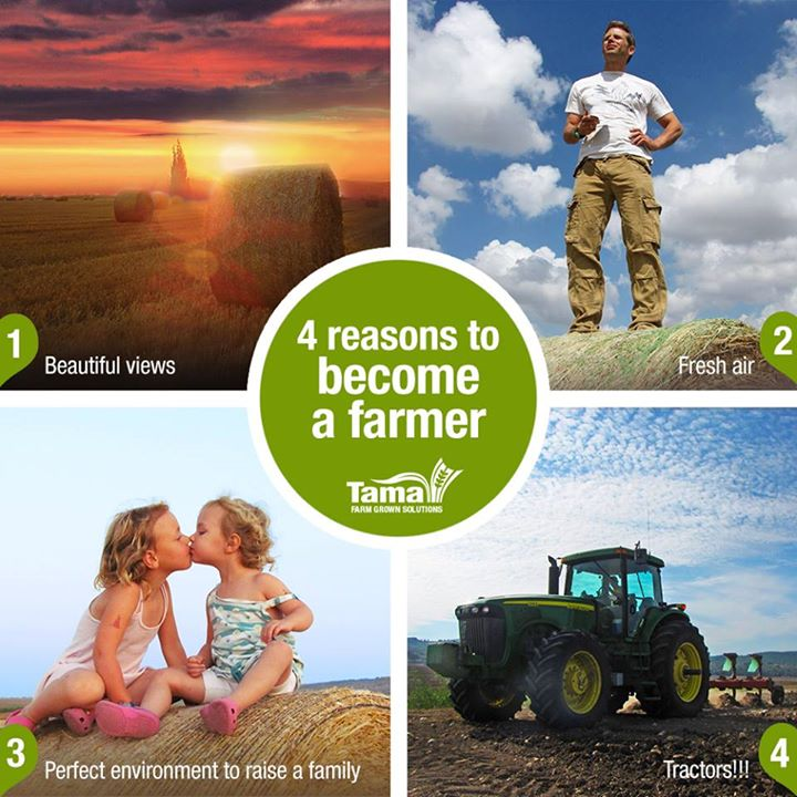 4 reasons to becaome a farmer