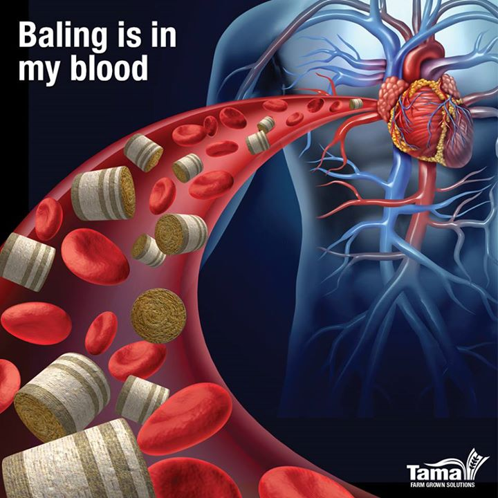 Baling is in my blood