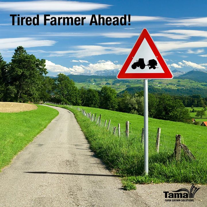 Tired Farmer Ahead!
