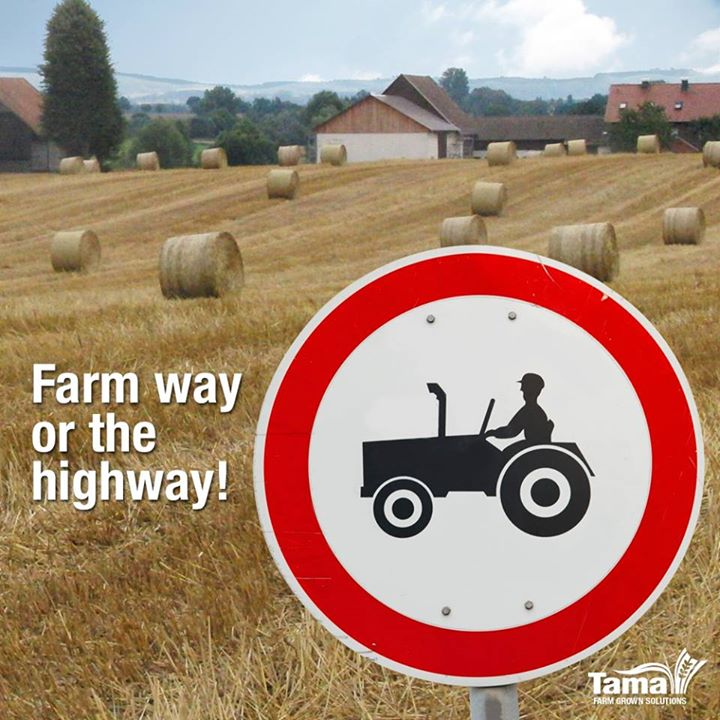 Farm way or the highway