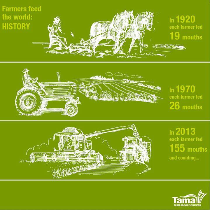Farmers feed the world