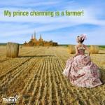 My prince charming is a farmer
