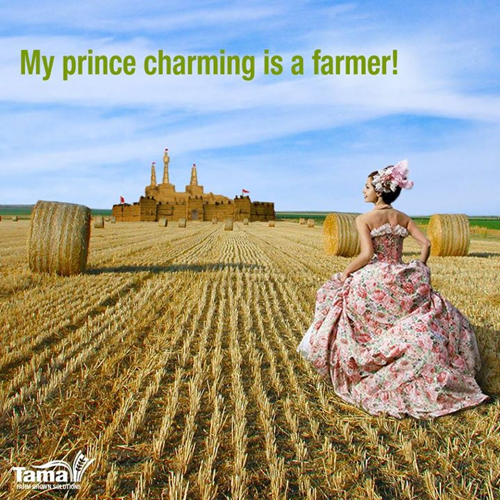 My prince charming is a farmer