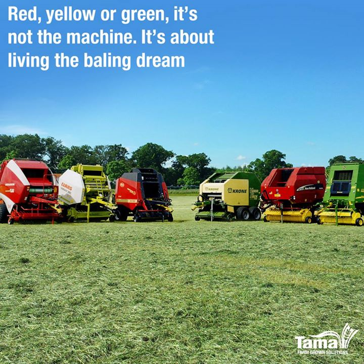 Red, yellow or green, it's not the machine