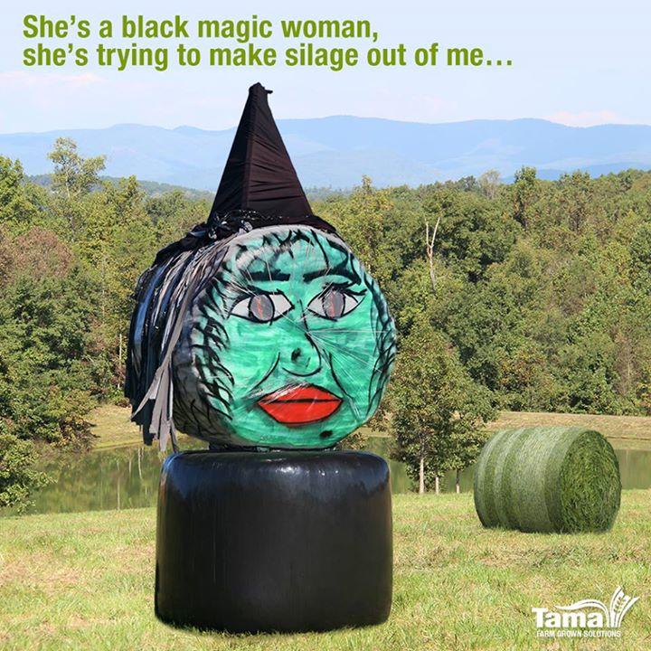 She's a black magic woman