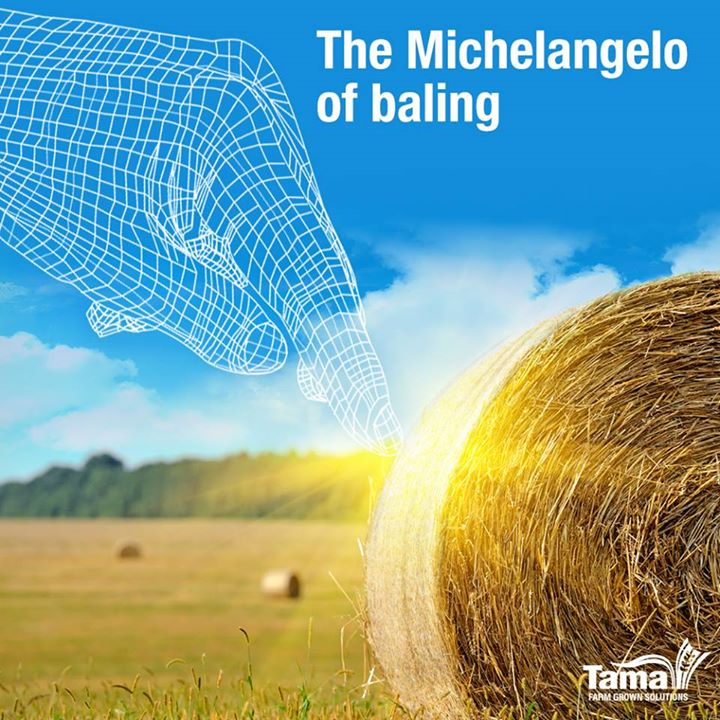 The Michelangelo of baling
