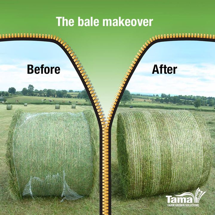 The bale makeover