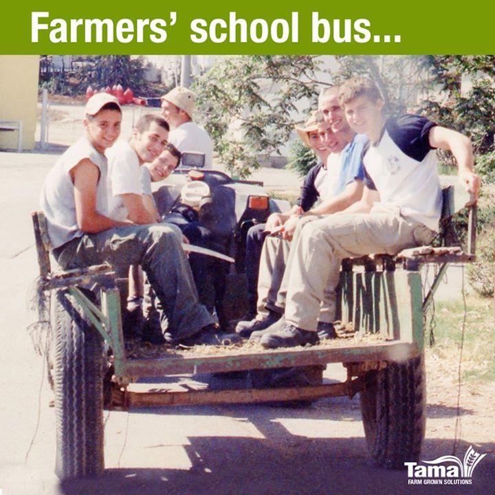 Farmers' school bus