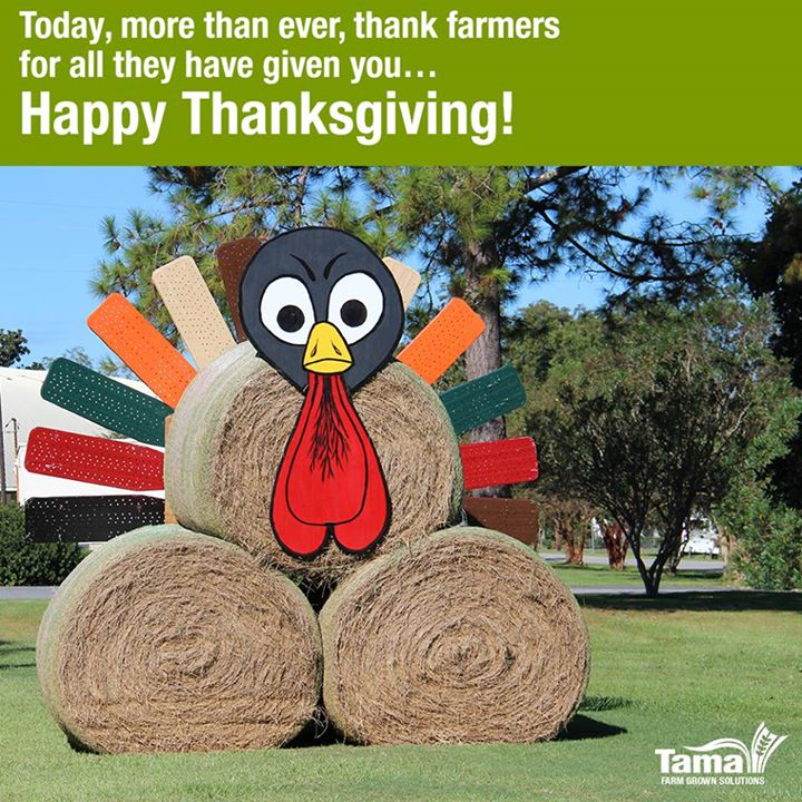We'd like to wish all our American friends a Happy Thanksgiving