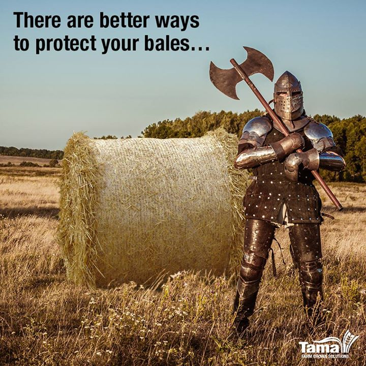 There are better ways to protect your bales