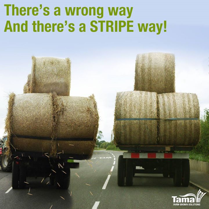 There's a wrong way and there's a stripe way