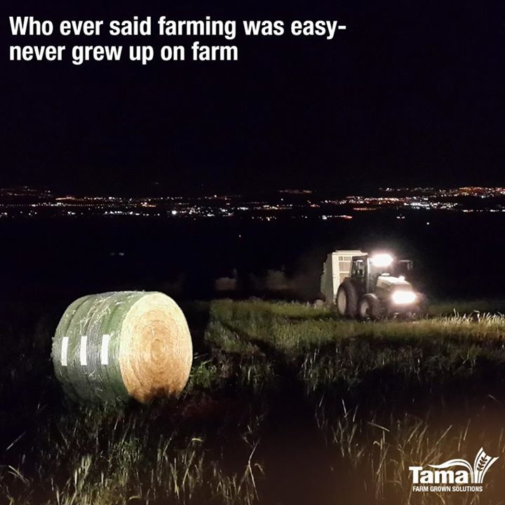 Who ever said farming was easy never grew up on farm