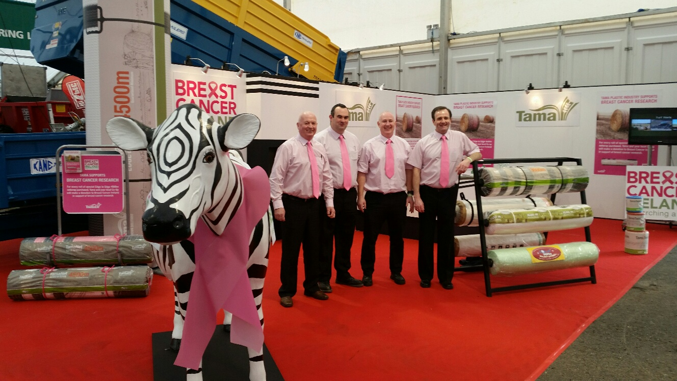 Tama Ireland supporting Breast Cancer Research