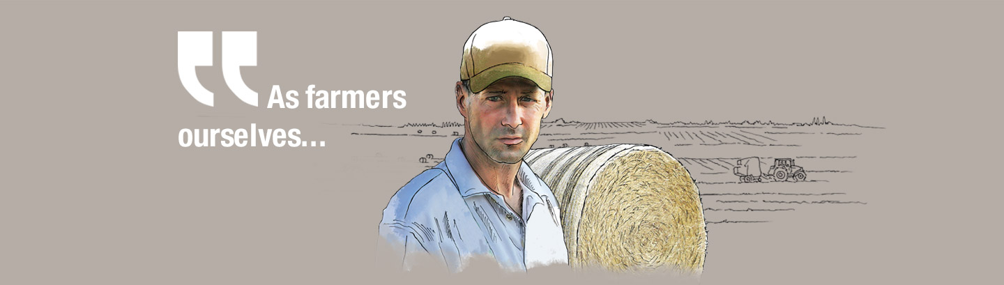 As farmers ourselves