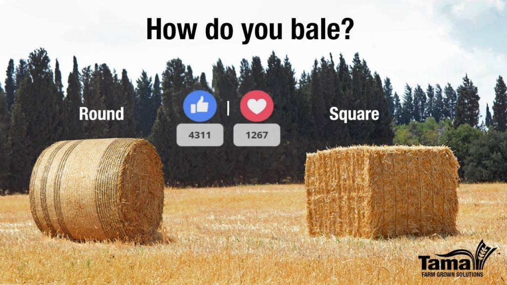 How do you bale