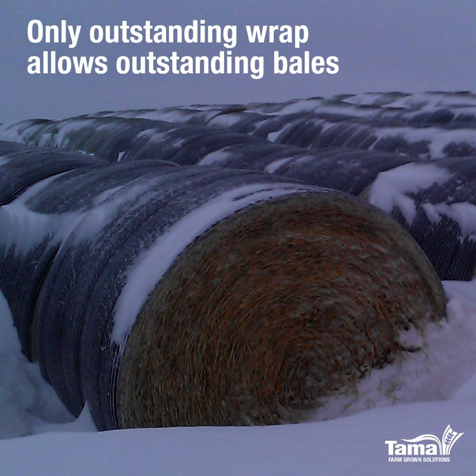 Only outstanding wrap allows outstanding bales