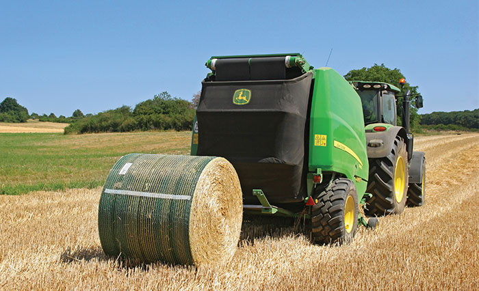 John Deere B-Wrap® with Tama SCM™ Technology Bale Netwrap