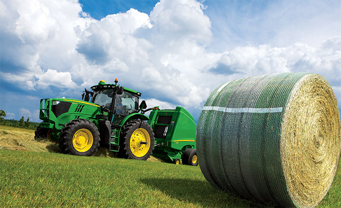 John Deere B-Wrap® in the field