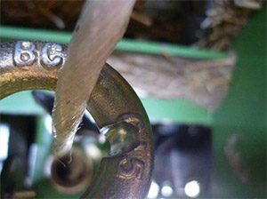 Twine Troubleshooting Abrasion by baler guide rings