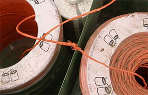Twine Troubleshooting Check size and type of spool joining knot