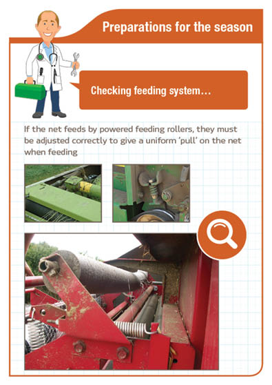 Preparation for the season - Checking feeding system