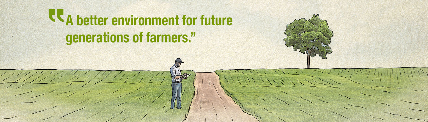 A better environment for future generations of farmers
